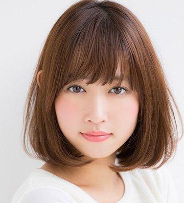 适合胖女孩的短发发型 胖子圆脸中短发发型(2)