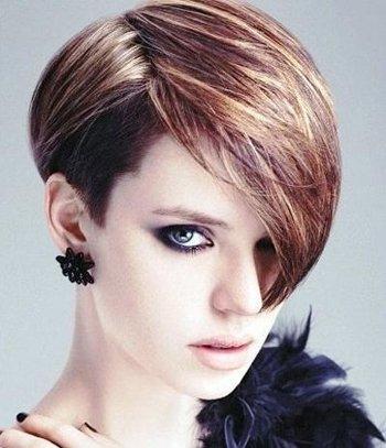 最新日系发型设计非常好看的女生短发发型图片