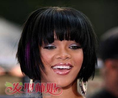 短发发型设计与脸型搭配