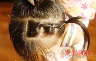 学生短发扎法图片步骤 小学生短发怎么扎好看(2)