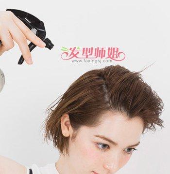 女生超短发怎么扎好看 超短发扎法图解图片