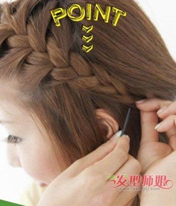 学生短头发马尾辫的新扎法 短发怎么扎适合学生的头发图片