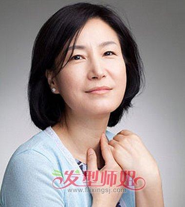 四十岁女人短卷发发型 胖人适合留的短卷发发型(4)