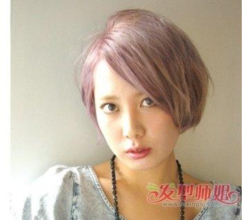 中年女短发剪那种好看 中年女式短发剪发(2)图片