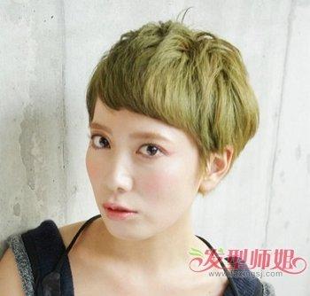 中年女短发剪那种好看 中年女式短发剪发(4)图片