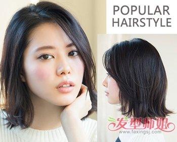 2016中年女士最新短发发型二图片