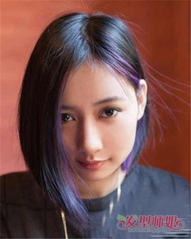 沙宣发型一边长一边短女 沙宣最新短发发型(3)图片