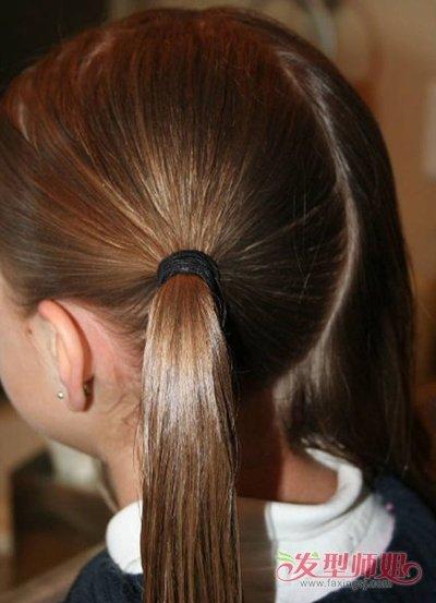 小女孩梳辫子的各种方法 给小女孩梳小辫的方法
