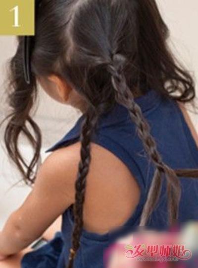 发型diy 长发扎发 >> 儿童卷发怎样扎头发简单好看 卷发儿童扎头发的