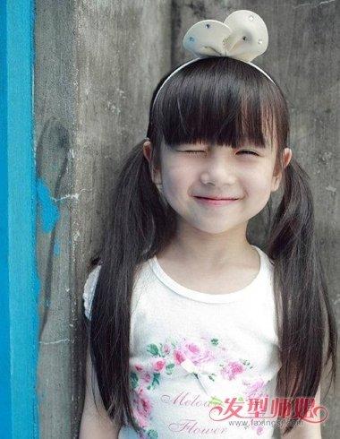 教你梳儿童头各种发型 儿童梳头发步骤图解(2)