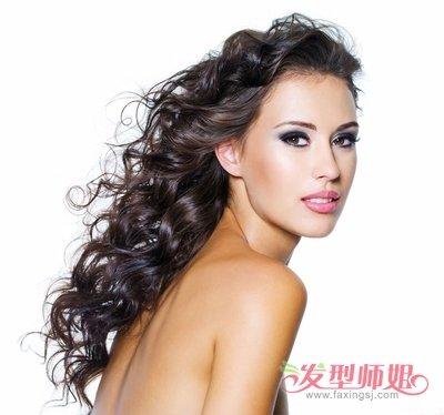 全烫卷发发型图片 发型图片女烫发全头卷图片