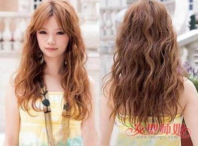 全烫卷发发型图片 发型图片女烫发全头卷(3)图片