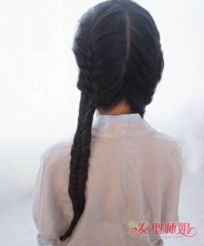简单古典发型怎么梳步骤 如何梳古典发型图片