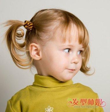 双马尾辫扎发发型图片