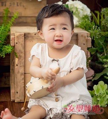 2017流行女童短发发型 女宝宝短发发型图片图片