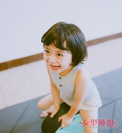 幼儿园小女孩短发发型大全 儿童短发弄什么发型好看