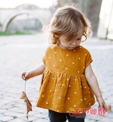 2岁女宝宝短发发型图片 小孩短发发型(4)