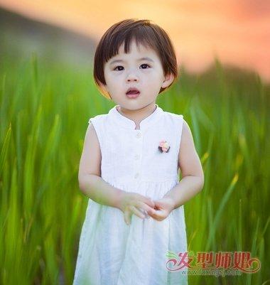 2岁女宝宝短发发型图片大全 女孩短发发型大全图片