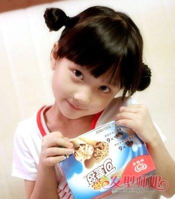 儿童短发小辫子发型扎法 儿童短发发型绑扎方法大全