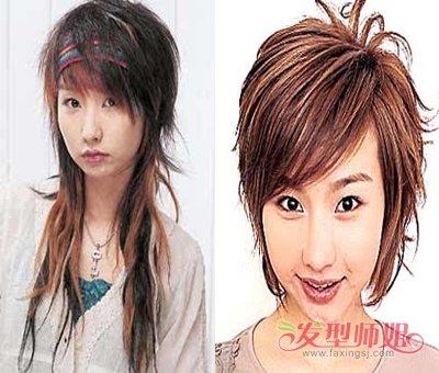 沙宣头接长头发的过程 女孩子长头发设计的图片_发型