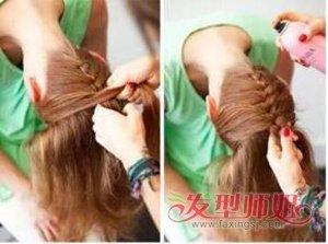 下面就让我们一起去看看这款充满视觉体验的长发扎发发型图解吧!图片