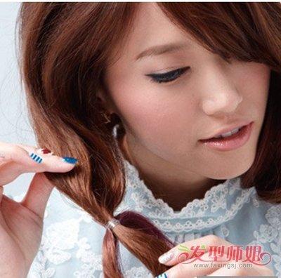 一分钟长头发变短头发的方法 怎么将长头发变成短发图片
