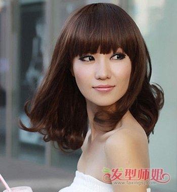 大方脸适合什么发型 大方脸适合的发型图片