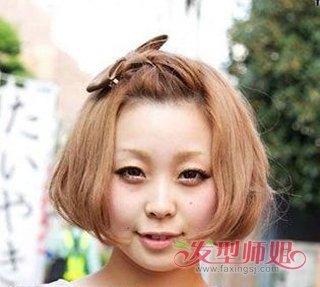 短发日系辫子发型 短头发小辫子怎么扎(4)图片