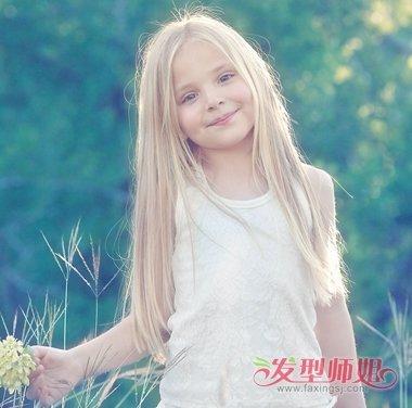 怎样给小孩子梳长头发 长头发的各种梳法图片