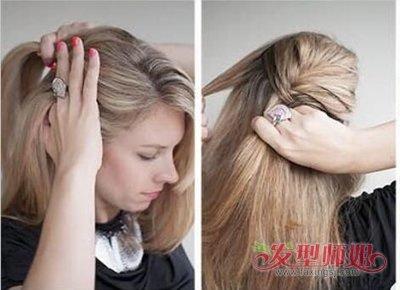 适合50岁的人的女性长头发盘发 免费学盘长头发