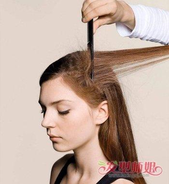 中长发适合中年女性吗 中年女性长发盘发方法图片