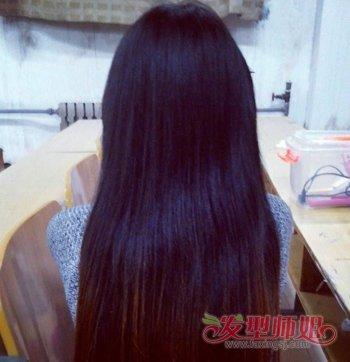 长头发女生烫什么发型好看 烫长头发花样图解图片