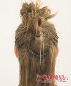 中长发怎么扎冬菇头 冬季中长发发型扎法(3)