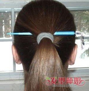 长头发如何盘头发最简单漂亮 长头发簪子盘发步骤