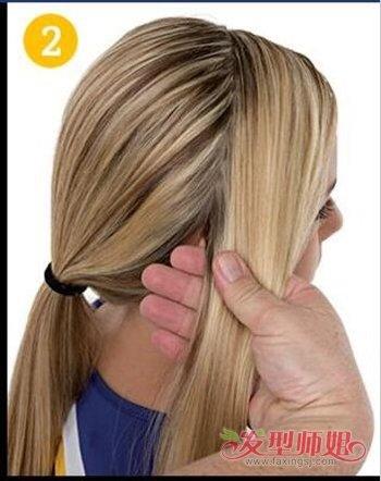发型设计 儿童发型 >> 小孩中长头发怎样扎好看 小女孩长头发的扎法图片