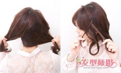 短头发怎么扎马尾可爱 学生扎头发简单好看的步骤马尾