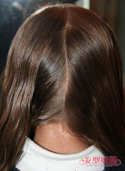 >> 简单梳长头发方法 女童长头发怎么梳好看  简单好看的儿童梳发是图片