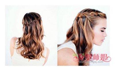 女人长头发怎么梳头好看 长头发怎样梳四股辫图片