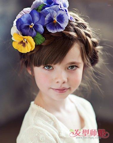 女孩时尚长发编发发型一