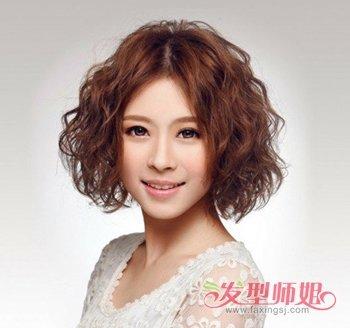 大脸最适合什么样的发型 2017流行大脸短发发型 中性图片