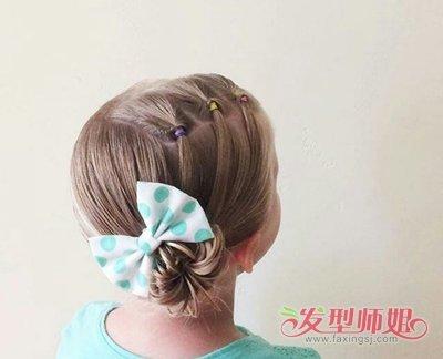 发型设计 儿童发型 >> 幼儿蘑菇头扎发 小女孩的蘑菇头怎么扎(2)