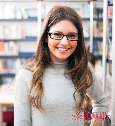 2017秋季发型烫头发有哪些初中适合戴眼镜2017年秋季女生考托福图片
