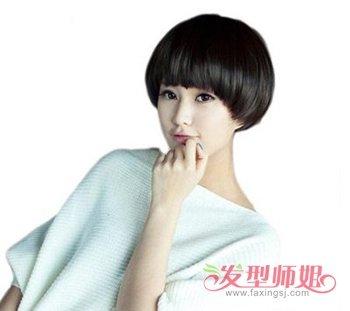 蘑菇头发型适合圆脸吗 脸圆的人适合什么发型(2)图片