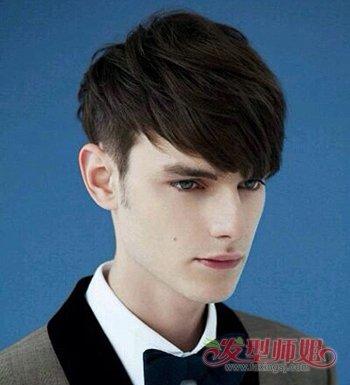 男士脸长适合什么发型 男士长圆脸发型设计