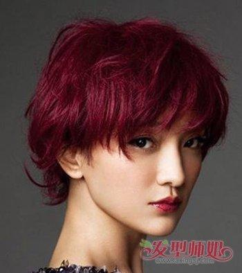 圆脸留什么样的发型 50岁的女人圆脸发型图片