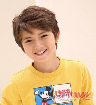 五年级小学生男生适合的发型 当今男生最流行发型(4)