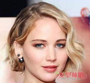 发型设计 卷发 >> 2017女生烫什么发型好看 短发烫发发型图片可爱(2)