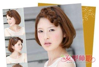 妹妹头扎什么样的头发好看带图片 妹妹头可以怎样扎头发图片