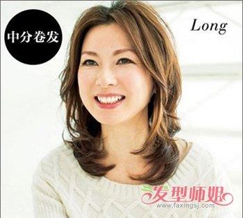 日本式中年发型 日本中年女性发型图图片