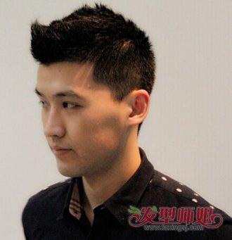 男生发型自学教程 男士发型设计教程(4)图片
